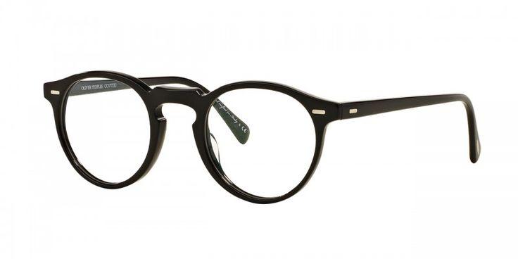 Oliver Peoples | Gregory Peck 45 Black Optical Eyewear by Oliver Peoples