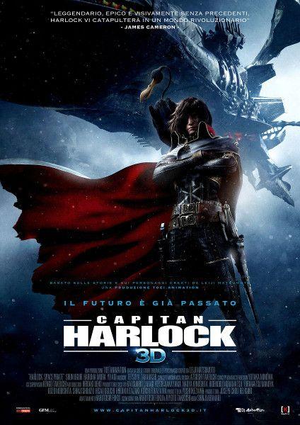 Capitan Harlock, un film di fantascienza del 2014, diretto da Shinji Aramaki, con Shun Oguri.