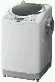 ナショナル 縦型洗濯乾燥機 泡洗浄