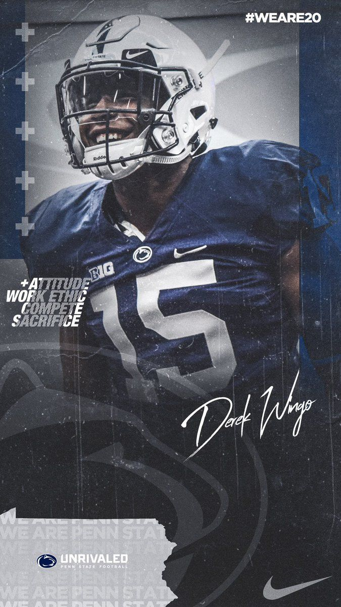 Penn State In 2020 Sports Graphic Design Sport Poster Design Sports Graphics