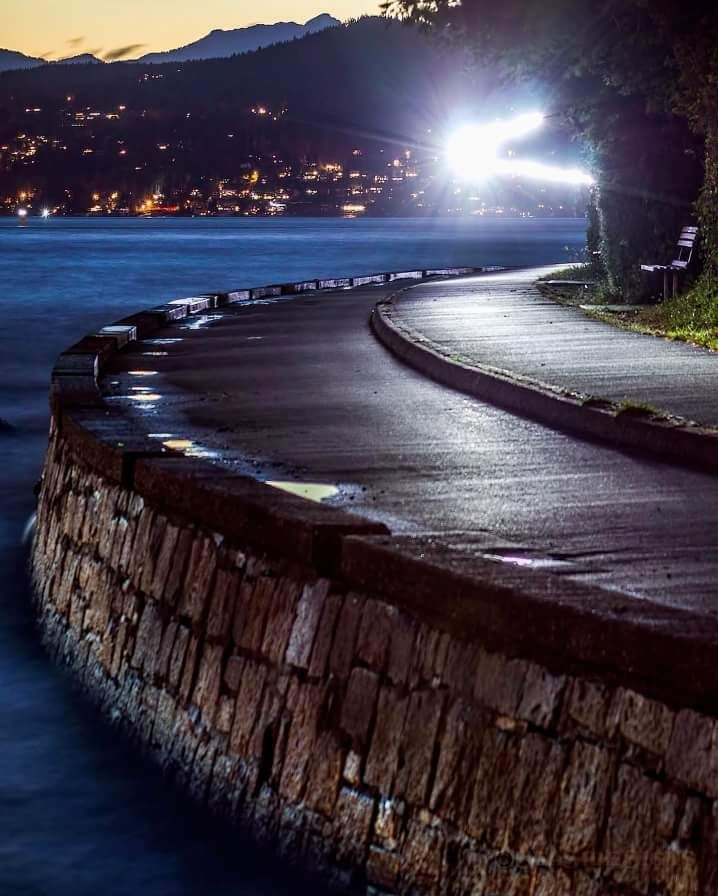 Ghost Riding On The Stanley Park Seawall Vancouver Photo By SeaSide Signs