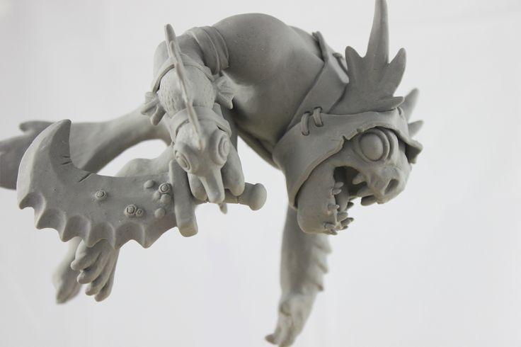 Slark - Dota 2 #maquette - Titus Lau