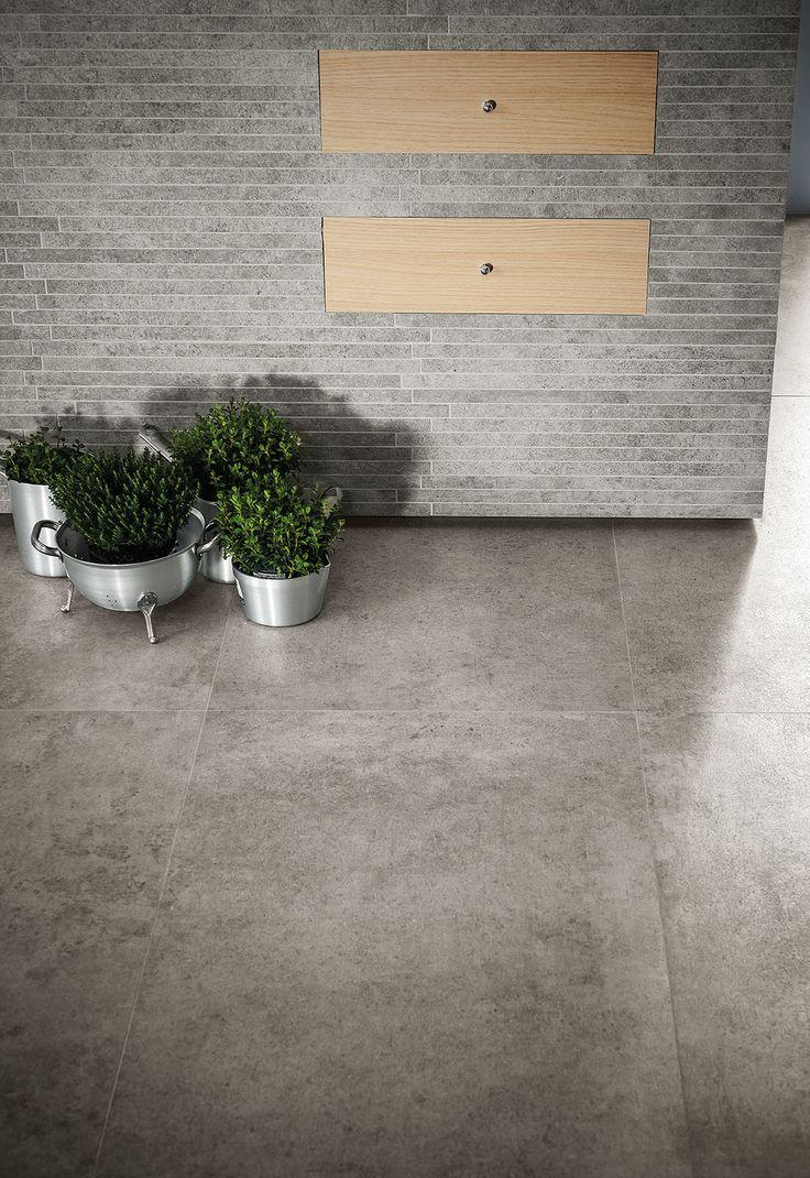 Fliesen aus Feinsteinzeug in Beton- und Cottooptik - Marazzi 4703