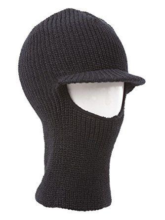 53d1b577530 Face Ski Mask w  Visor – Black Review