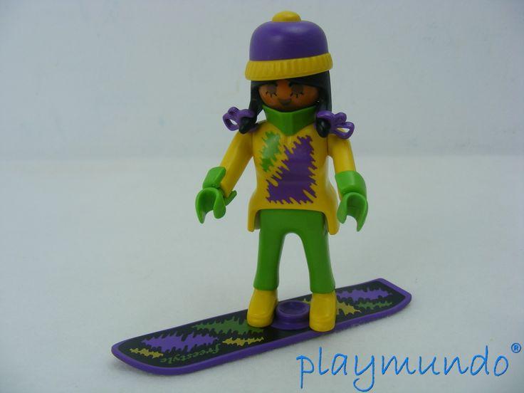 PLAYMOBIL 3683 CHICA SNOWBOARD (AÑO 1992 - 1994) http://www.playmundo.es/playmobil-3683-chica-snowboard-ano-1992---1994-10263-p.asp