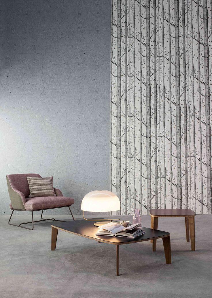Blazer armchair / Monforte coffee table  Collection 2015 By Bonaldo www.bonaldo.it