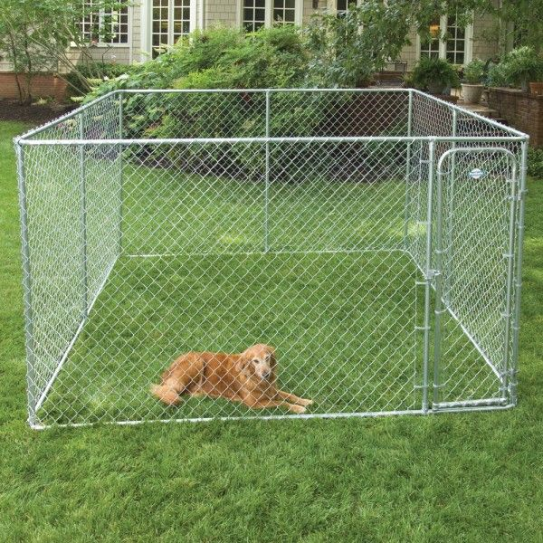 10 best dog fence images on pinterest dog fence dog for Dog fence enclosure