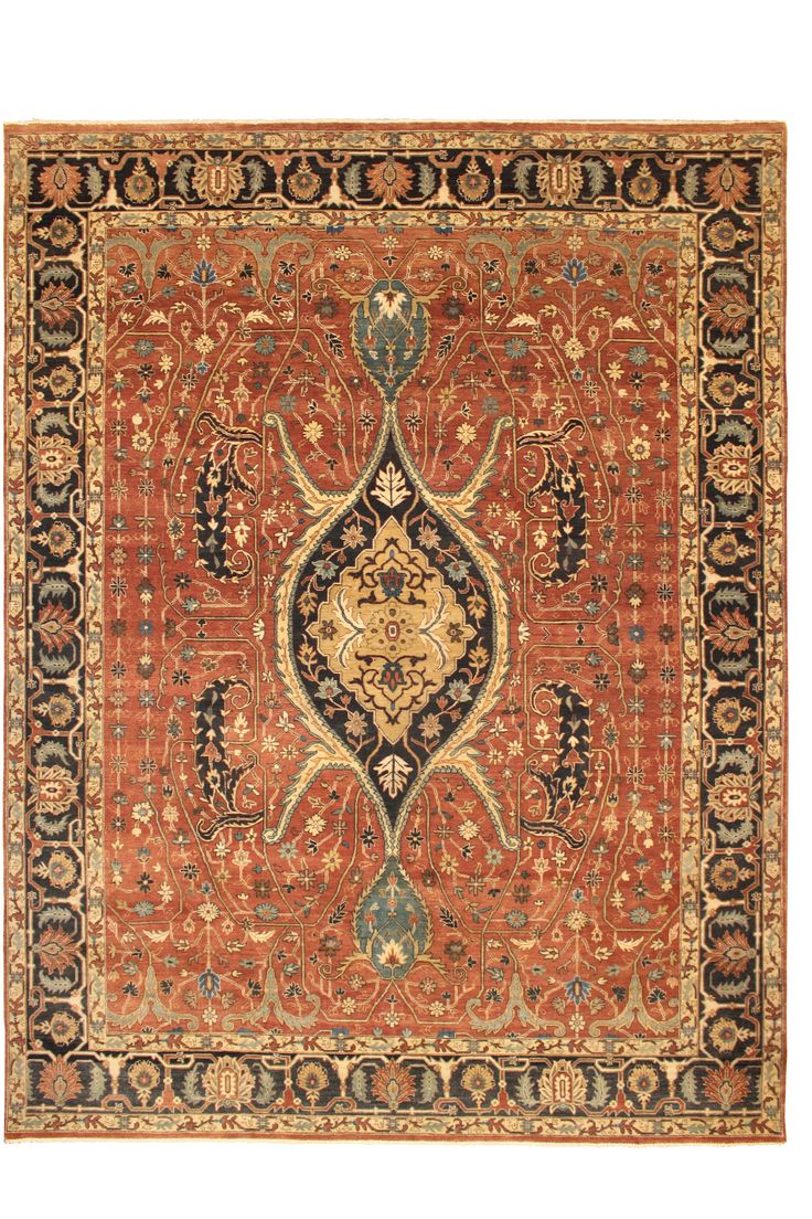 130388 9x12 Traditional Oriental Rug