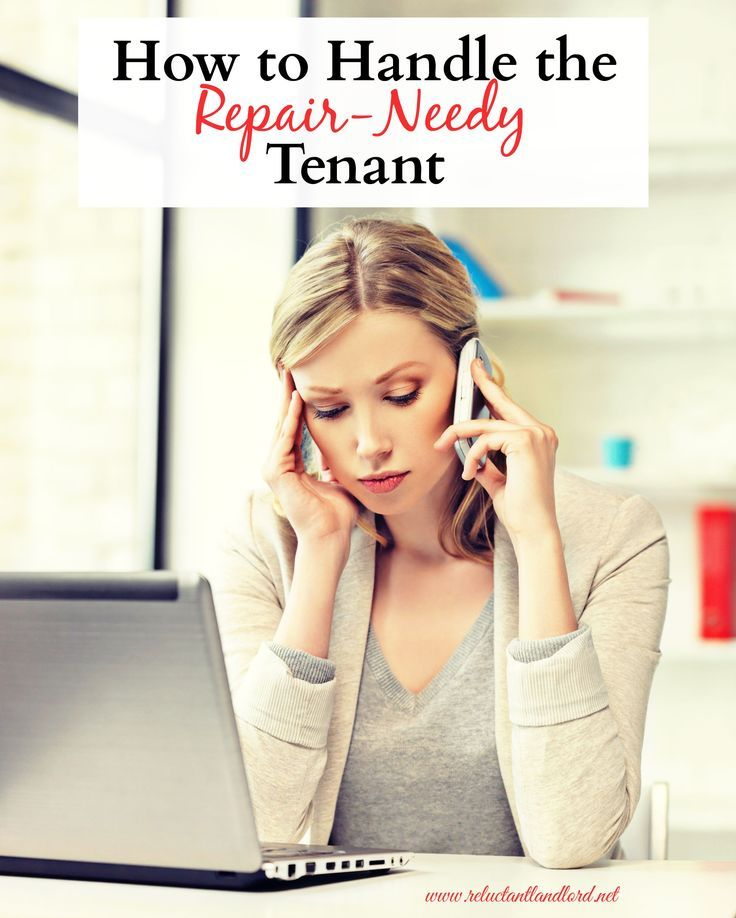 Are you a landlord needing to learn how to handle a repair-needy tenant? Check out my tips on what to do in this unique situation!