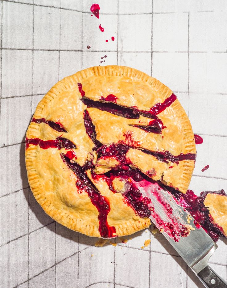 modern pie design blueberry - Google Search