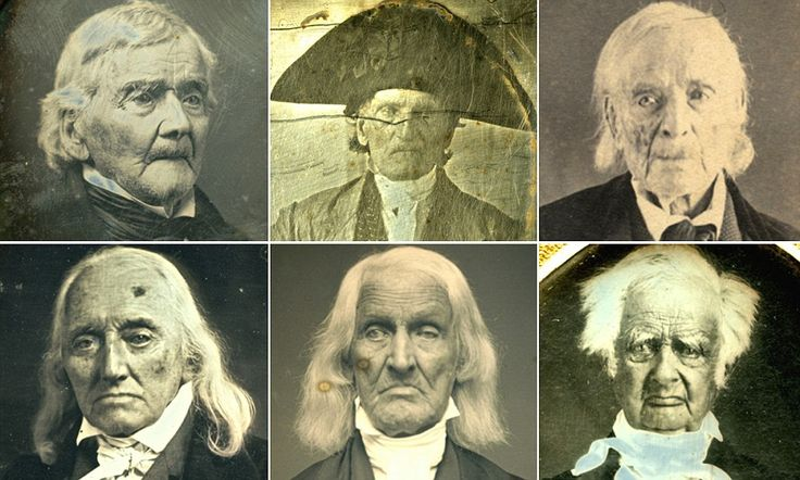 Faces of the American revolution: Amazing early photographs which document some of the heroes of the War for Independence in their later yea...