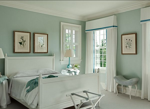 White Drapes with trim