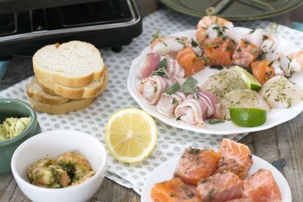 Gourmetten? Ik geef je 5 gourmettips met vis! Recept via BrendaKookt.nl