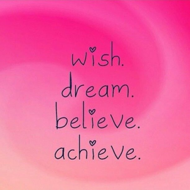 how to achieve your dreams quotes