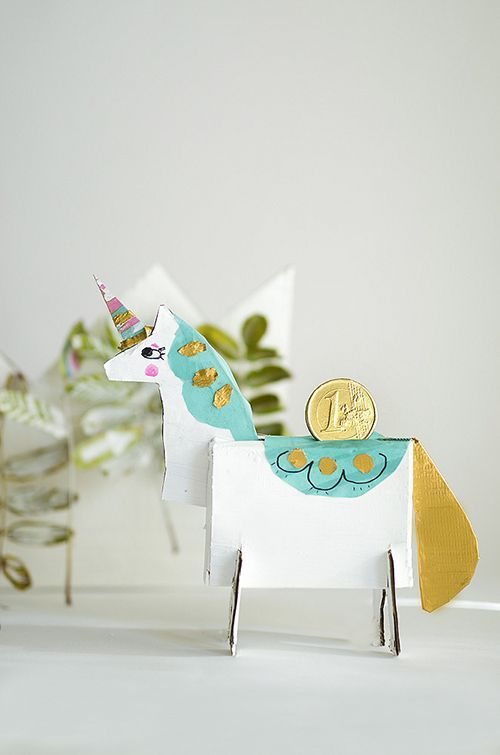DIY Unicorn Bank | willowday