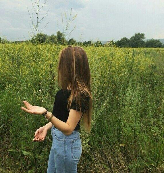Chloe in my favourite field - Taken by Delancie