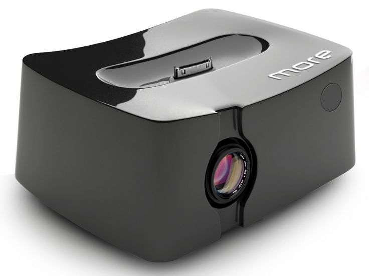 The new iPhone projector | Observe the new Honlai Qingbar MP101, a pico-projector with an iPhone dock built right in. Buying advice from the leading technology site