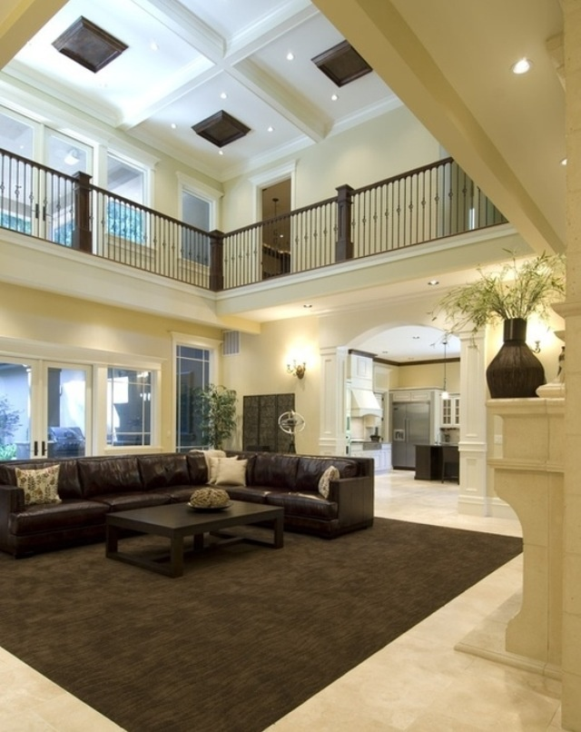 26 best images about indoor balcony on pinterest entry for Coffered cathedral ceiling