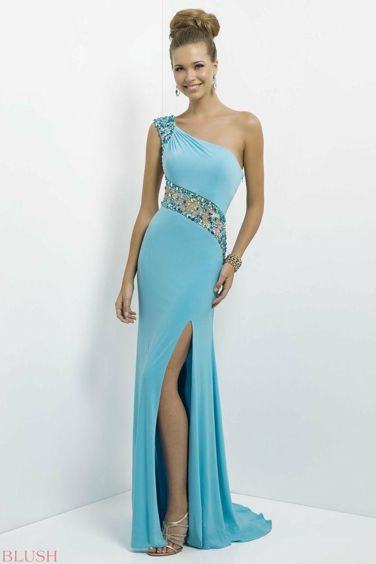 30 best Elegant Evening Dresses images on Pinterest | Blush prom ...