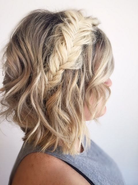 Braided Hairstyles For Short Hair Fair 381 Best Hair Images On Pinterest  Hair Colors Short Hair And Hair