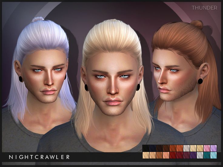 NEW MESH  Found in TSR Category 'Sims 4 Male Hairstyles'