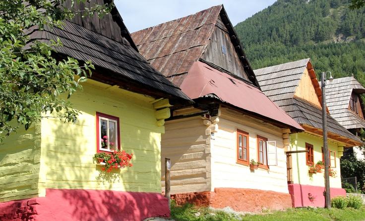 Le petit village Vlkolínec....Slovakia