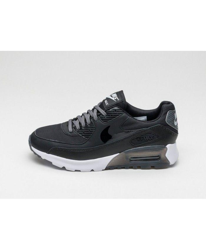 Nike Air Max 90 Ultra Essential Black White Grey Shoes Sale