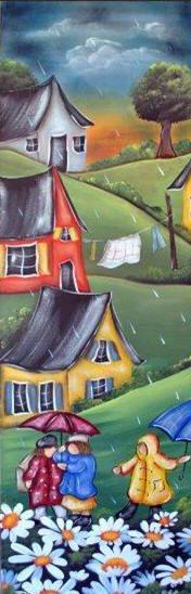 Accueil Peinture décorative sur bois - Patron, pièce de bois, pinceaux, peinture,accessoires