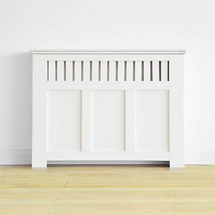 Radiator covers & cabinets and screen panels at Homebase