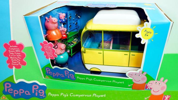 Свинка Пеппа новая машина