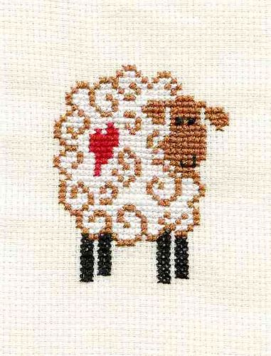 "♥ Sheep cross stitch by ""homeofalisa"" on Flickr ~ Photo Sharing ♥"