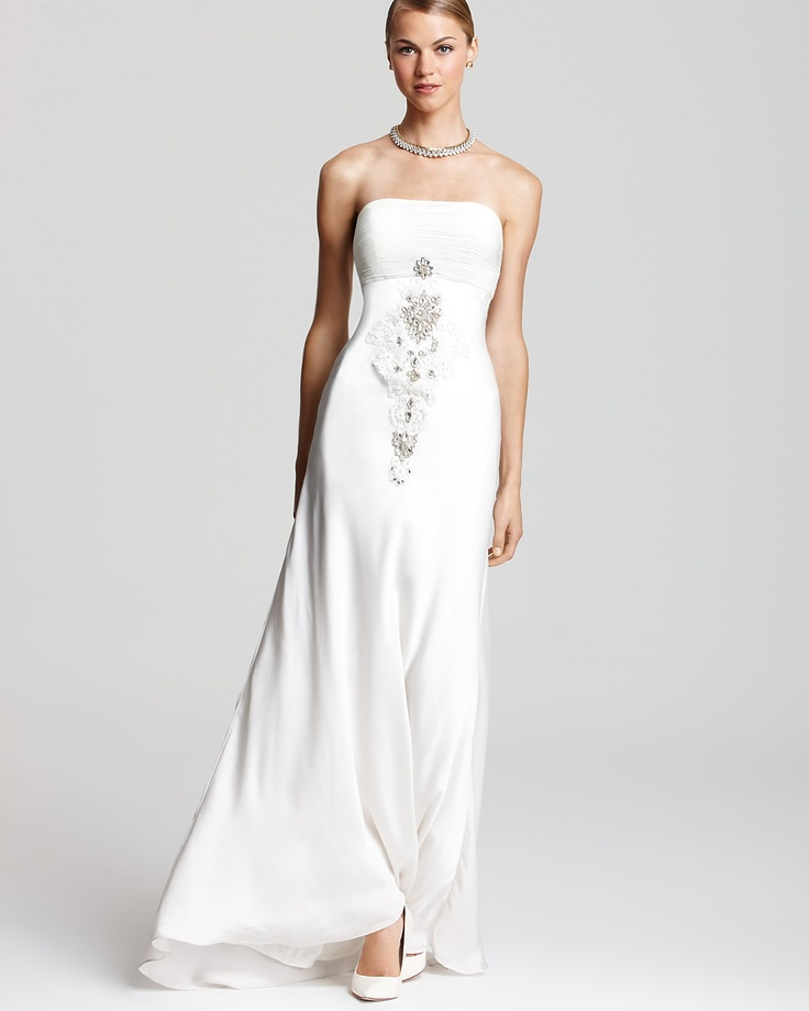 55 best wedding dresses images on pinterest dress shops ralph sw studio by sue wong strapless gown beaded bloomingdales junglespirit Images