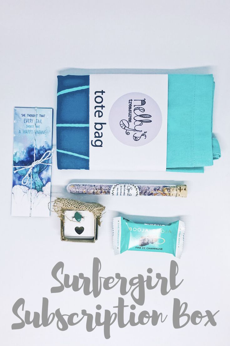 January Blue Subscription Box For Sea Air And Self Care From Www Tidebox Co Uk Utm Con Subscription Boxes For Girls Subscription Boxes Champagne Box