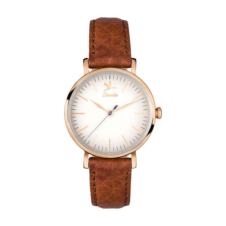 La Sully or rose - Montre française Charlie Watch