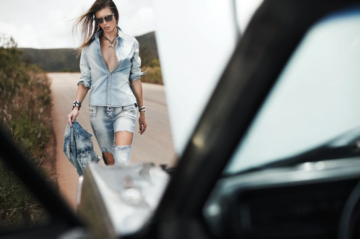 #inverno2014 #fall #winter #citylimits #fashion #editorial #moda #brasil #ontheroad #jeans #camisajeans #shortjeans #estilo #lavibh