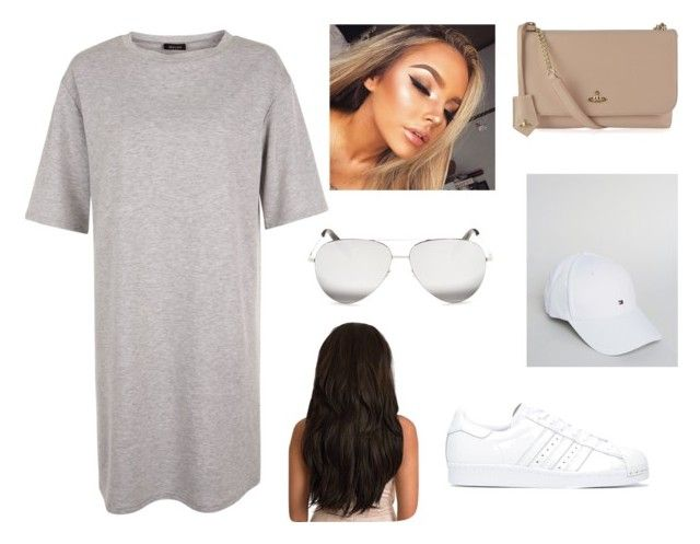 """""""Untitled #52"""" by parvanitagis on Polyvore featuring adidas, Tommy Hilfiger, Vivienne Westwood and Victoria Beckham"""