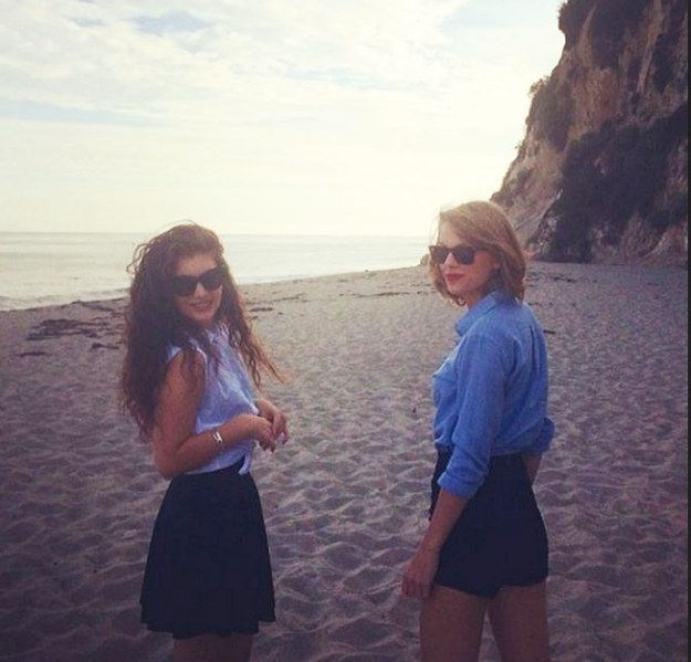 Which Of Taylor Swift's BFFs Are You?  You got: Lorde You may not have known each other for that long but you and Taylor are true friends. You value each other's opinion on the music you've made and Taylor loves nothing more than you introducing her to new bands. She values the fact she can hang out with you and eat takeaways, and considers you one of her most trustworthy pals.