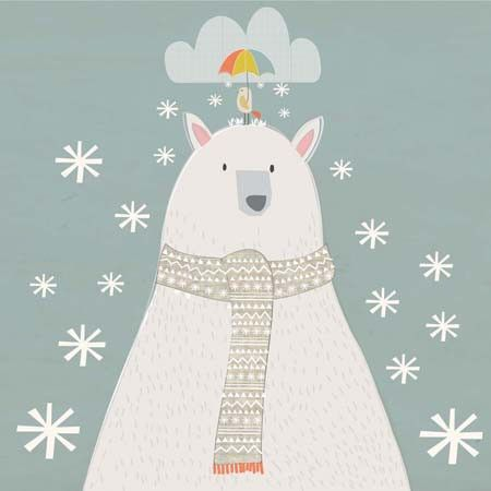 Polar Bear- Christmas Card - Southwood stores