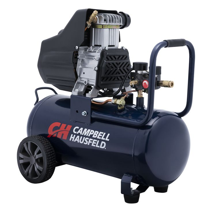 Complete home, garage and workshop projects quickly and easily with the Campbell Hausfeld 8-gallon, horizontal, oilless air compressor (DC080100). Find it at campbellhausfeld.com. #CampbellHausfeld
