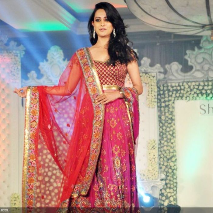 Anita in Neeta Lulla Collection