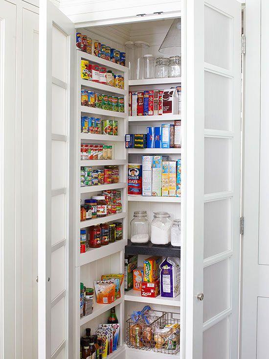 Les 63 meilleures images propos de cellier sur pinterest peintures murales stockage d - Comment faire un garde manger ...
