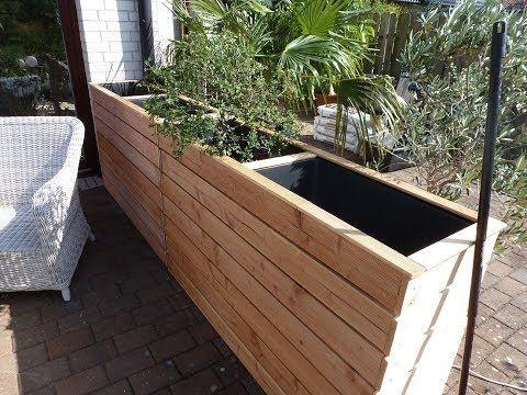 Erhöhte Bett als Windschutz oder Privatsphäre für Terrasse und Garten, machen Sie es sich …   – Garten