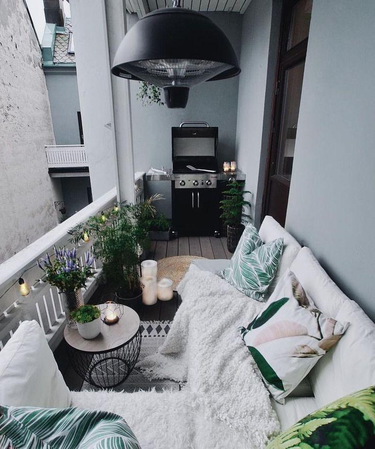 36 Tolle kleine Balkon Garten Ideen – LaleApartment – Tina Weywadt – ozlemdilber