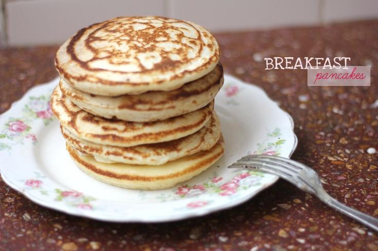 impalpables: panqueques para desayunar