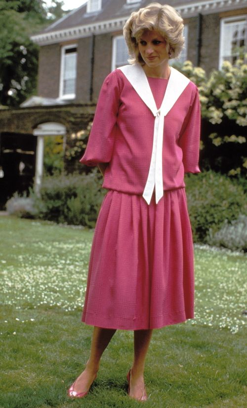 June 12, 1984: Princess Diana at a photocall in the garden of Kensington Palace, London.