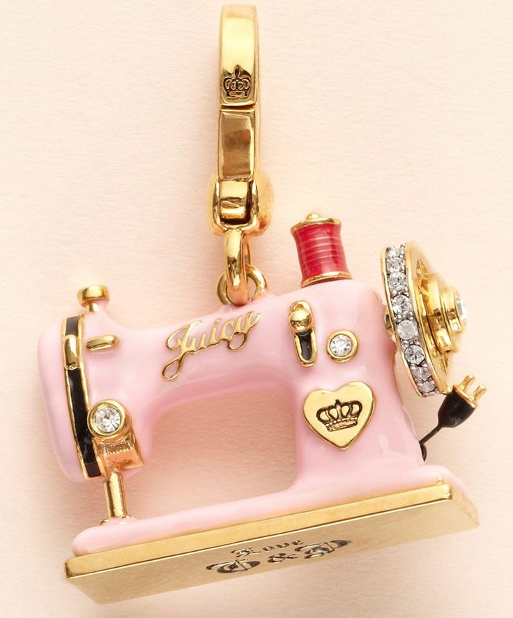 40 Best Charms Images On Pinterest Charm Bead Charm Bracelets And Cool Juicy Couture Sewing Machine Charm