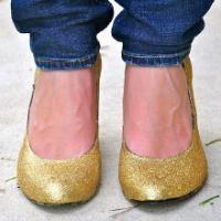 DIY: Glitter pumps - Mode - Flair