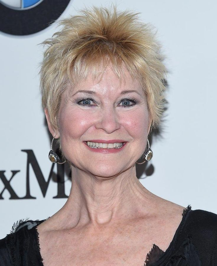 Dee Wallace is not afraid to amp things up by trying this sassy, ruffled pixie and so should be the case with you! It is the perfect haircut to add a