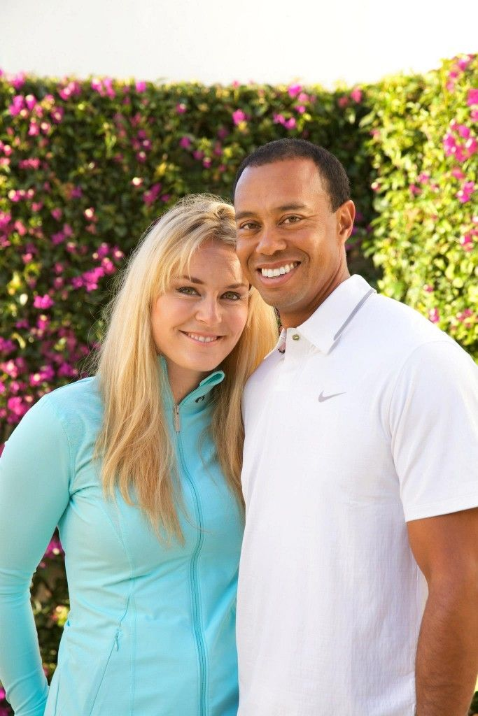 COUPLED UP: Tiger Woods and Lindsey Vonn are officially dating