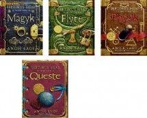 Seria fantasy a anului- ''Septimus Heap'' 4 carti la doar 99 lei  Septimus Heap este o serie de cărți pentru copii de Angie Sage, cu personajul principal cu același nume - Septimus Heap. Până acum, au fost publicate patru volume ale cărți: Magie, Zborul, Leacuri și Căutarea . Cine e Septimus Heap? Un copil pierdut? Un erou nebanuit? Un vrajitor puternic? Aici incepe Magia.   Fiecare carte cumparata individual costa 30 lei.  OFERTA pentru cumpararea celor 4 carti : 99 lei.